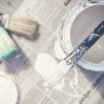 What you didn't know about white paint - Paint White Brushes Paint Can Bucket 933395